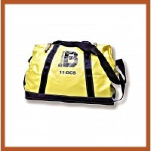 "Bashlin 24"" x 19"" x 11"" Polyester Tool Bag w/Nylon Web Handles, Leatherette Bottom, & Polyester Web Shoulder Strap"