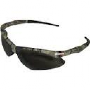 Nemesis Camouflage Frame, Smoke Lens Safety Glasses (22609)