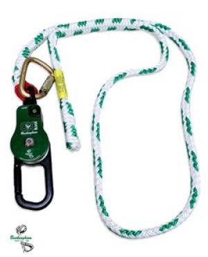 "Buckingham OX BLOCK w/4' x 5/8"" Adjustable Sling & Steel Carabiner"