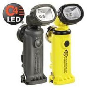 Streamlight Knucklehead LED rechargeable Rotating head  handheld light with ac and dc chargers